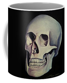 Medical Skull  Coffee Mug by James Christopher Hill