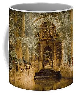 Paris, France - Medici Fountain Oldstyle Coffee Mug