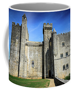 Medieval Castle Along Dordogne River Coffee Mug