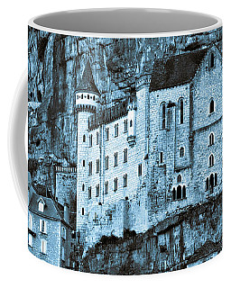 Medieval Castle In The Pilgrimage Town Of Rocamadour Coffee Mug