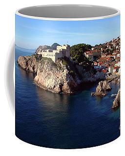 Medieval Fortresses Lovrijenac And Bokar Dubrovnik Coffee Mug