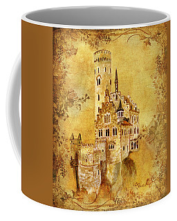 Medieval Golden Castle Coffee Mug