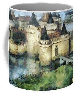 Medieval Knight's Castle Coffee Mug