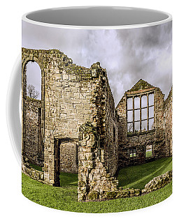 Coffee Mug featuring the photograph Medieval Ruins by Nick Bywater