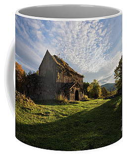 Medieval Tezharuyk Monastery During Amazing Sunrise, Armenia Coffee Mug