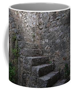 Medieval Wall Staircase Coffee Mug