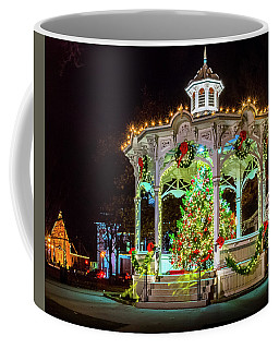 Medina, Ohio Christmas On The Square. Coffee Mug