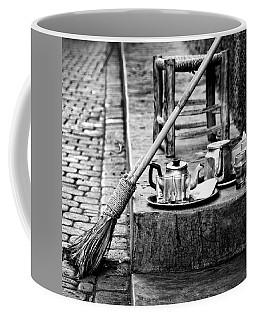 Coffee Mug featuring the photograph Medina Tea Break by Marion McCristall