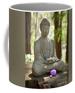 Meditation Buddha With Offerings Coffee Mug