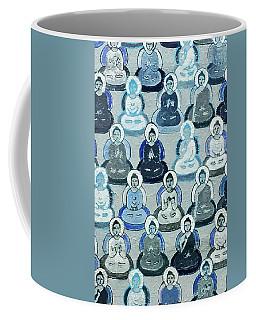 Meditation In Blue Coffee Mug