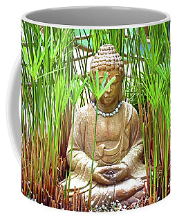 Meditation Coffee Mug by Ray Shrewsberry