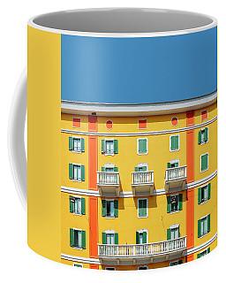 Mediterranean Colours On Building Facade Coffee Mug