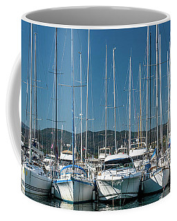 Mediterranean Marina Coffee Mug