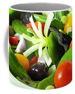 Mediterranean Salad Coffee Mug