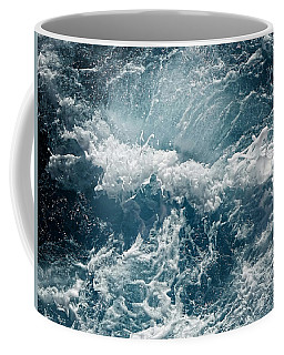 Mediterranean Sea Art 53 Coffee Mug by Richard Rosenshein