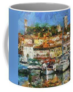 Mediterranean Harbor Coffee Mug