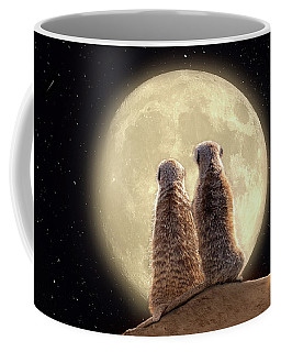 Meerkat Moon Coffee Mug