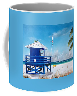 Meet At Blue Lifeguard Coffee Mug