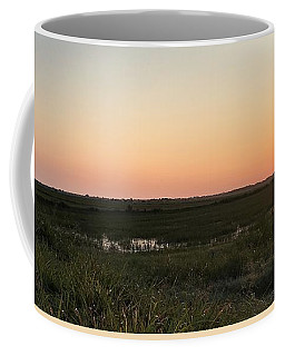 Meet Me At The Backgate Coffee Mug by John Glass