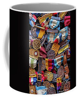 Coffee Mug featuring the photograph Meet Medals by Christopher Holmes
