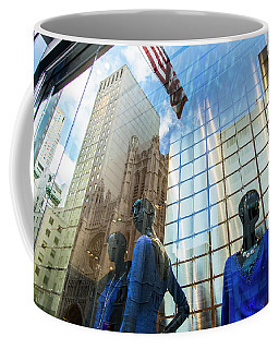 Coffee Mug featuring the photograph Meet The New Boss by Alex Lapidus