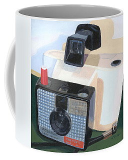 Coffee Mug featuring the painting Meet The Swinger by Lynne Reichhart