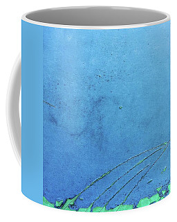Meet-up In Blue. #abstract #abstractart Coffee Mug