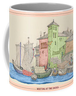 Meeting At The Docks Classic Coffee Mug