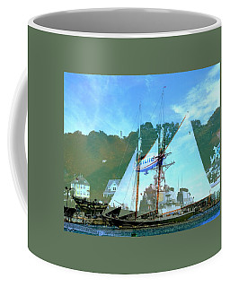 Meeting Of Air And Sea Coffee Mug