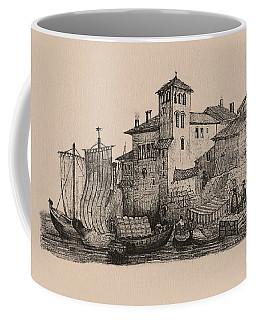 Meetings At The Dock Coffee Mug