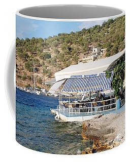Meganissi Beach Taverna Coffee Mug