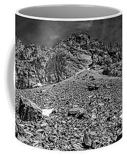 Melakwa Pass Black And White Coffee Mug