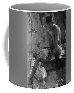 Melancholy Days Collage Bw Coffee Mug