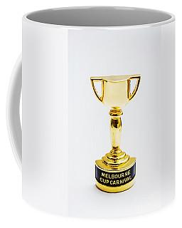 Melbourne Cup Horse Race Trophy Coffee Mug