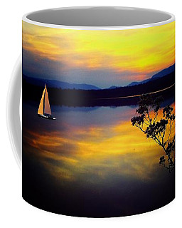 Mellow Moments In New England Coffee Mug by Mike Breau