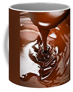 Melted Chocolate And Spoon Coffee Mug
