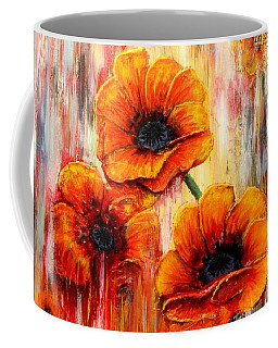 Melting Flowers Coffee Mug