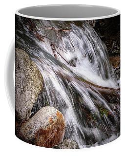 Melting Snow Falls Coffee Mug by Elaine Malott
