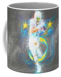 Melvin Gordon La Chargers 4 Football Coffee Mug