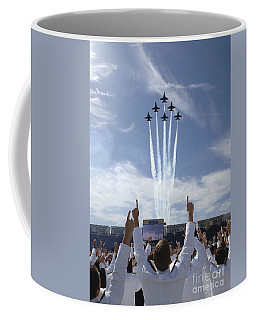 Members Of The U.s. Naval Academy Cheer Coffee Mug