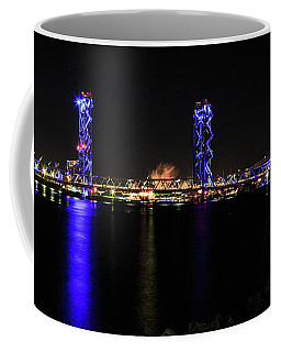 Memorial Bridge At Night Coffee Mug