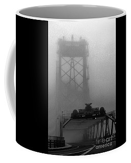 Memorial Bridge In Morning Fog Coffee Mug