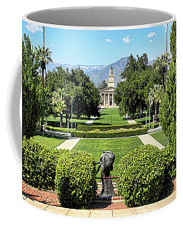 Memorial Chapel University Of Redlands Coffee Mug by Mariola Bitner