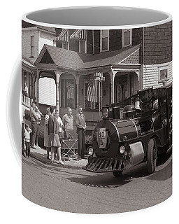 Memorial Day Parade  Ashley Pa  Corner Of W Hartford And Brown  Circa 1965 Coffee Mug