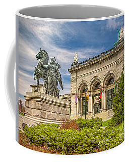 Coffee Mug featuring the photograph Memorial Hall - Fairmount Park by Nick Zelinsky