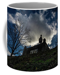 Memorial At The Summit Of The Hill Coffee Mug