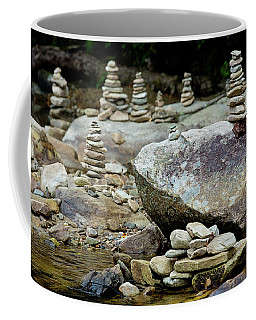 Memorial Stacked Stones Coffee Mug