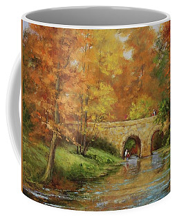 Memories At Stone Bridge Coffee Mug