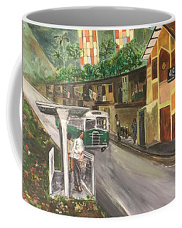 Memories Of Commonwealth - Close Up View Of Apartments Coffee Mug by Belinda Low