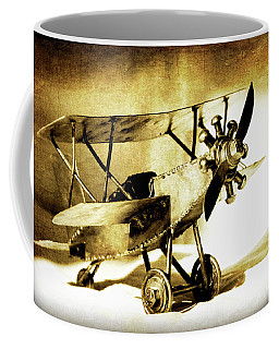 Memories Of Flying Coffee Mug by Lincoln Rogers